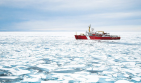 Canadian Coast Guard Ship Louis S. St-Laurent by thelonelyYOTTABYTE on Reddit